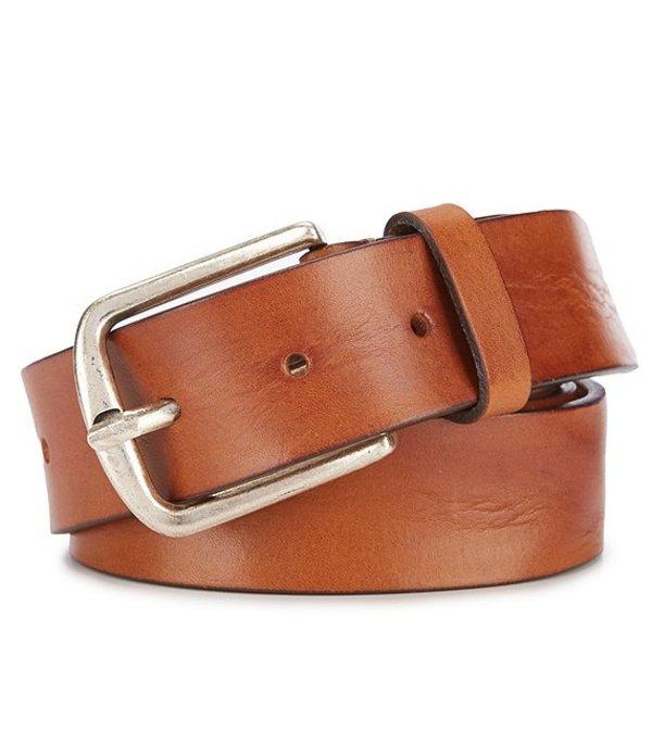 トッミーバハマ メンズ カジュアルパンツ ボトムス Marlin Embossed Leather Casual Belt Tan