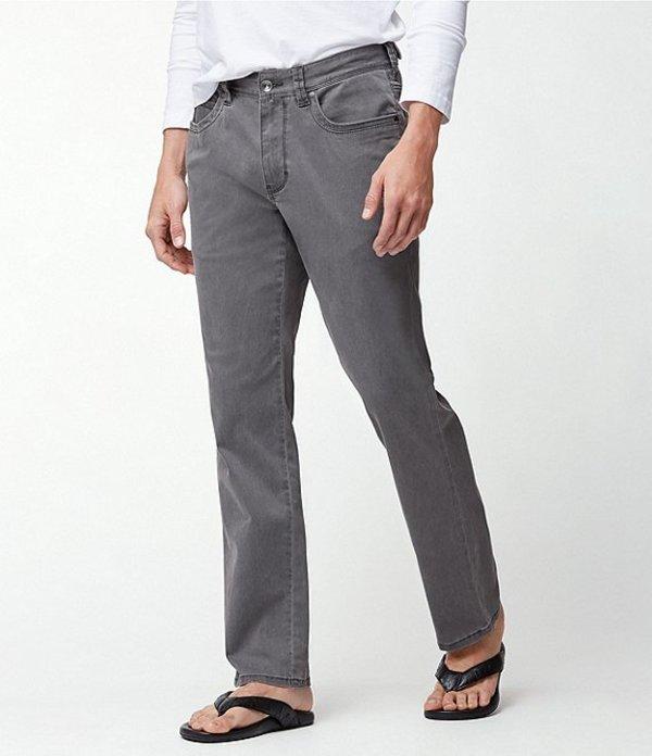 トッミーバハマ メンズ デニムパンツ ボトムス Boracay Sateen Stretch 5-Pocket Jeans Fog Grey