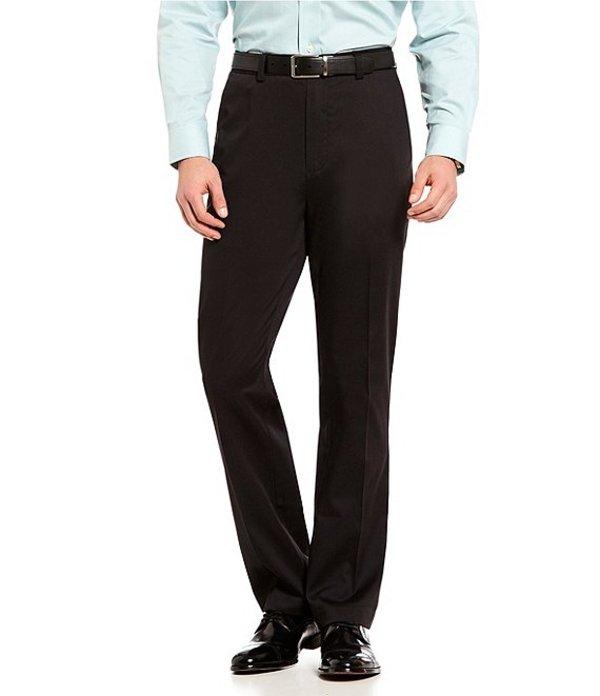 ラウンドトゥリーアンドヨーク メンズ カジュアルパンツ ボトムス TotalFLEX Classic Fit Flat Front CoreComfort Waistband Easy Care Pants Black