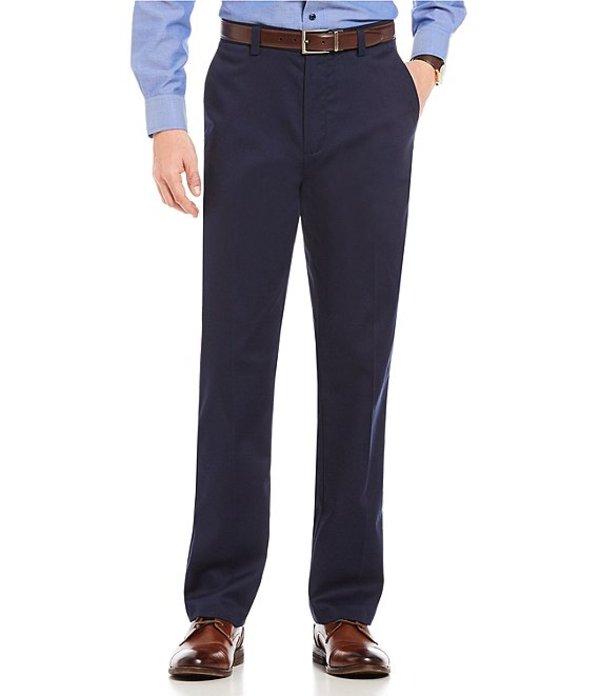 ラウンドトゥリーアンドヨーク メンズ カジュアルパンツ ボトムス TotalFLEX Classic Fit Flat Front CoreComfort Waistband Easy Care Pants Dark Navy