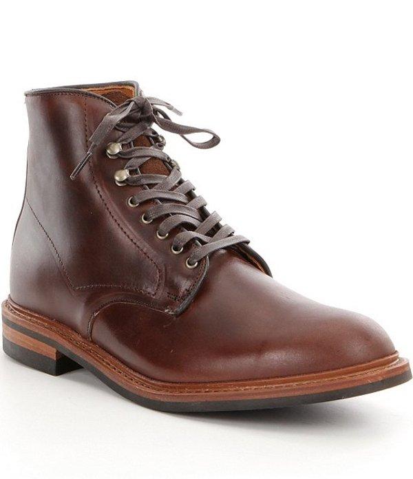 アレンエドモンズ メンズ ブーツ・レインブーツ シューズ Men's Higgin Mill Classic Boots Brown