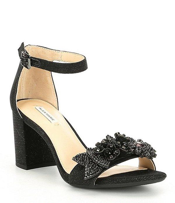 アレックスマリー レディース サンダル シューズ Harlean Block Heel Dress Pumps Black