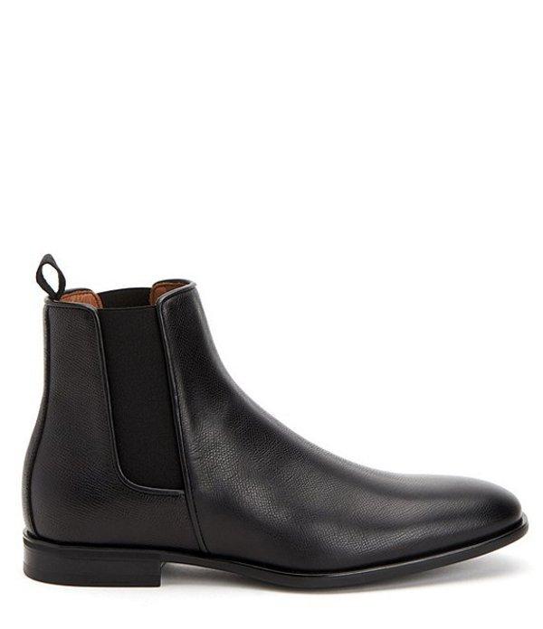 アクアタリア メンズ ブーツ・レインブーツ シューズ Men's Adrian Leather Boot Black