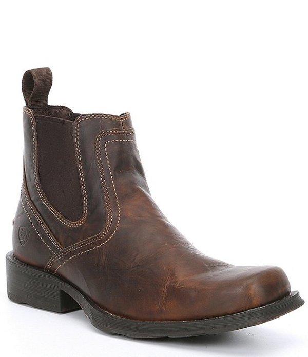 アリアト メンズ ブーツ・レインブーツ シューズ Men's Midtown Rambler Chelsea Boot Brown