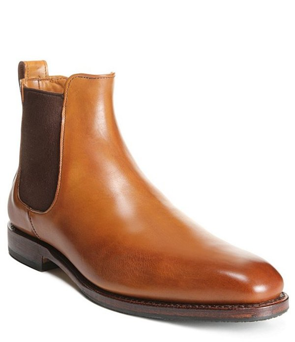 アレンエドモンズ メンズ ブーツ・レインブーツ シューズ Men's Liverpool Boot Walnut
