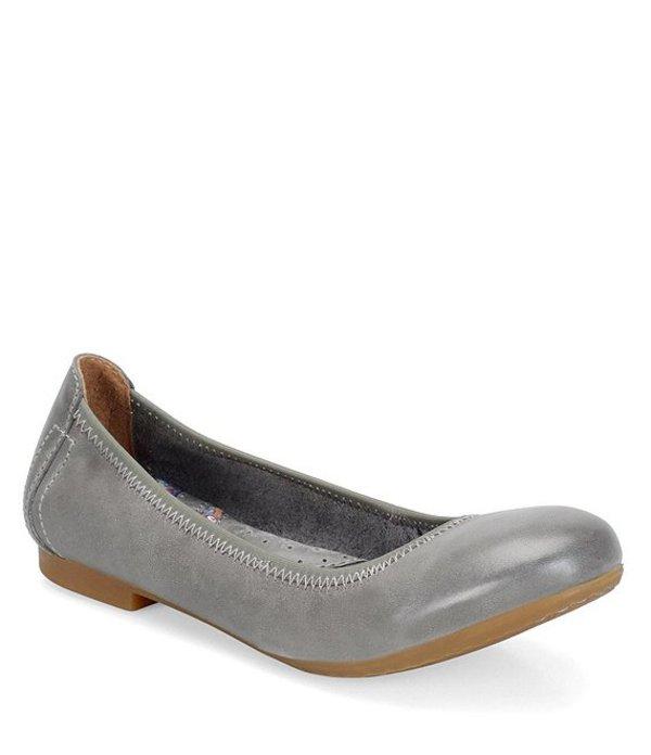 ボーン レディース パンプス シューズ Julianne Leather Flats Grey