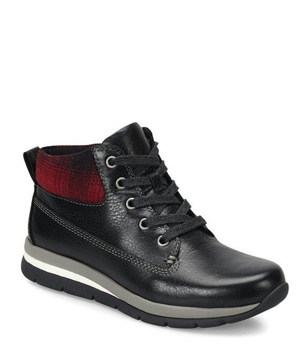 ビオニカ レディース スニーカー シューズ Tuscon Hiker Sneakers Black/Red Plaid