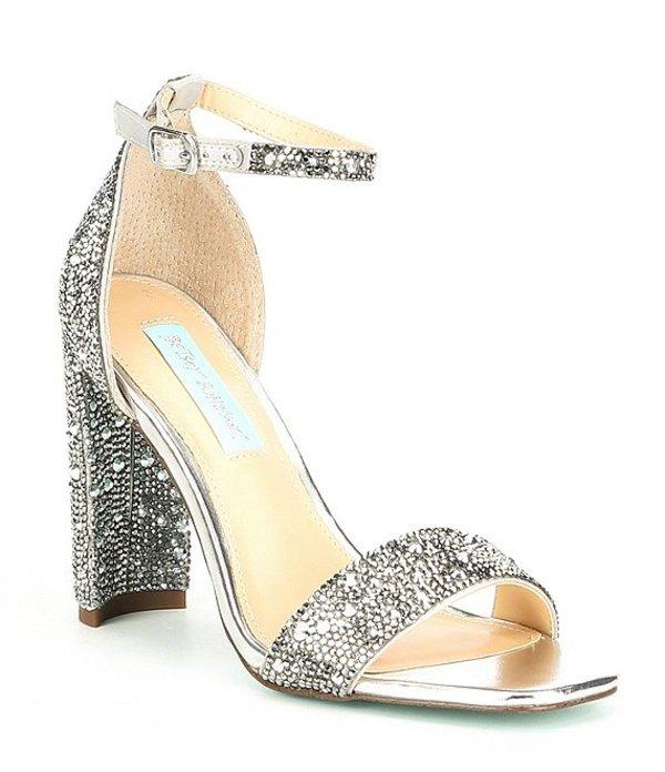 ベッツィジョンソン レディース サンダル シューズ Blue by Betsey Johnson Rina Dress Sandals Silver