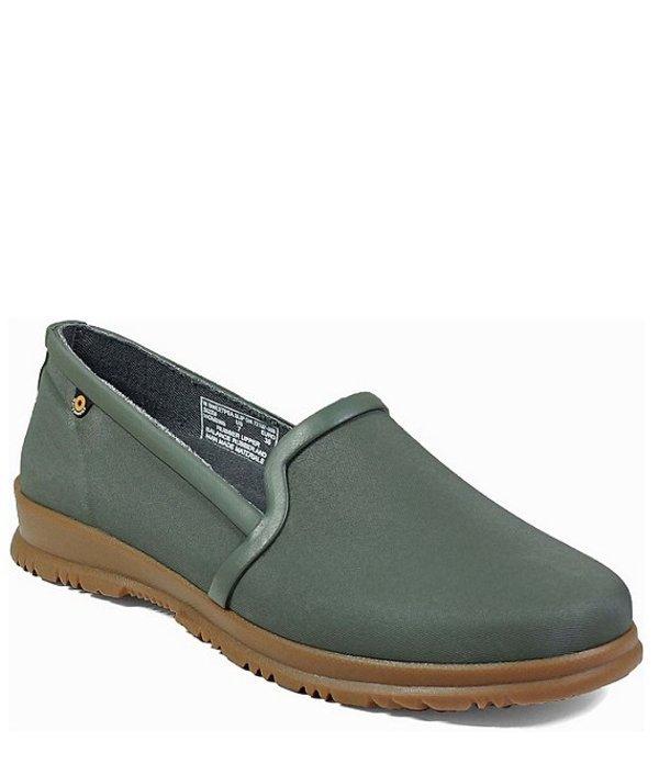 ボグス レディース スリッポン・ローファー シューズ Women's Sweetpea Slip On Waterproof Rain Shoes Sage