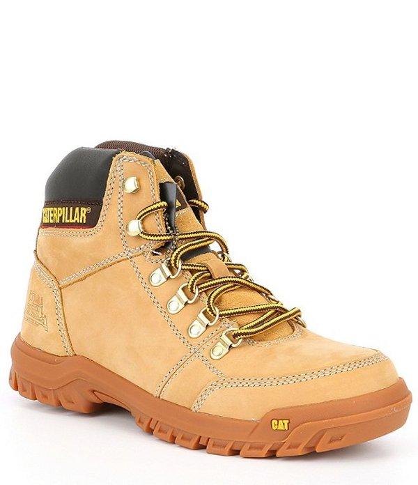 キャットフットウェア メンズ ブーツ・レインブーツ シューズ Men's Outline Soft Toe Work Boot Honey