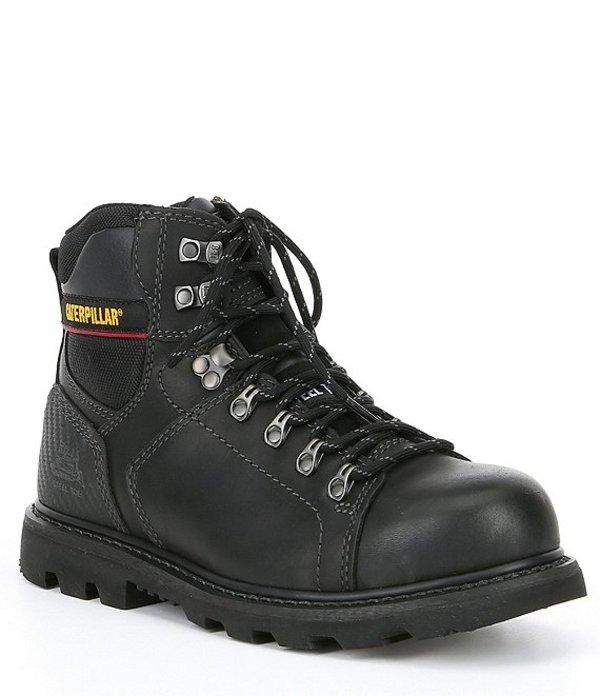 キャットフットウェア メンズ ブーツ・レインブーツ シューズ Men's Alaska 2.0 Steel Toe Work Boot Black