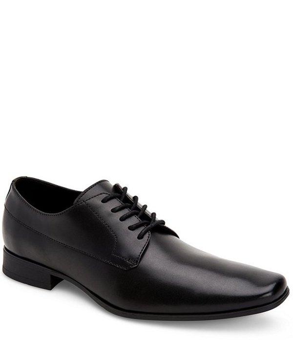 カルバンクライン メンズ ドレスシューズ シューズ Men's Birk Plain Toe Oxford Black
