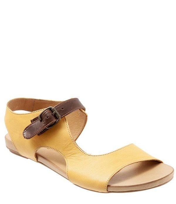 ブエノ レディース サンダル シューズ Kina Leather Sandals Yellow