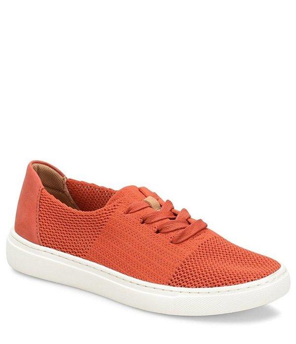 コンフォーティバ レディース スニーカー シューズ Trista Knit Mesh Lace Up Sneaker Orange
