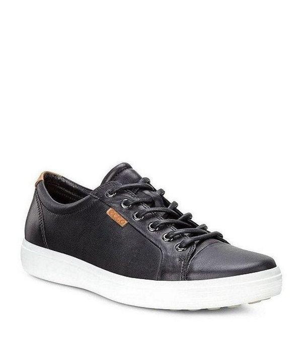 エコー メンズ スニーカー シューズ Men's Soft VII Sneakers Black