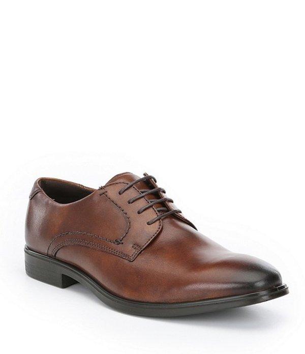 エコー メンズ ドレスシューズ シューズ Men's Melbourne Tie Shoes Amber