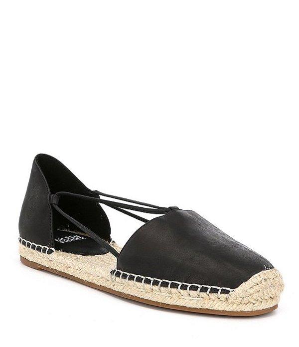 エイリーンフィッシャー レディース サンダル シューズ Lee Espadrille Leather Flats Black