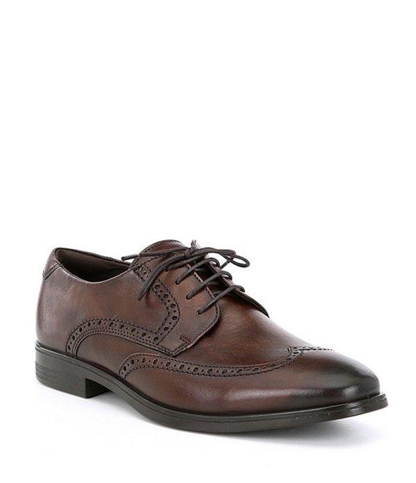 エコー メンズ ドレスシューズ シューズ Men's Melbourne Wingtip Oxfords Cocoa Brown