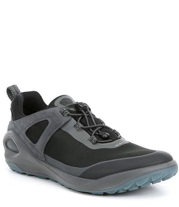 エコー メンズ スニーカー シューズ Men's Biom 2GO GORE-TEX (TM) Speed Lace Sneaker Dark Shadow/Titanium/Black