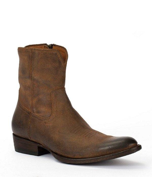 フライ メンズ ブーツ・レインブーツ シューズ Men's Austin Boot Brown