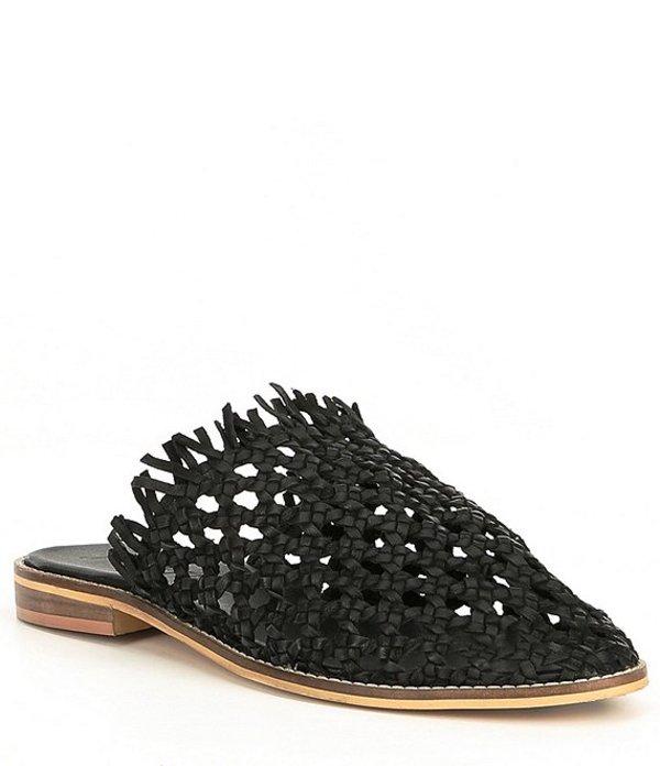 フリーピープル レディース サンダル シューズ Mirage Woven Leather Mules Black