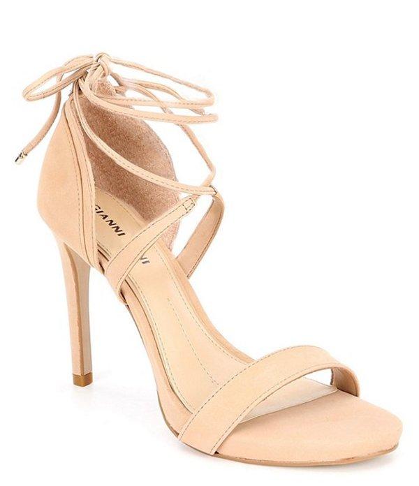 ジャンビニ レディース サンダル シューズ Daymey Ankle-Tie Dress Sandals Spanish Sand