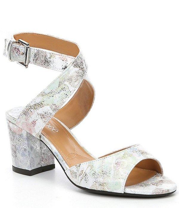 ジェイレニー レディース サンダル シューズ Drizella Block Heel Dress Sandals White/Pastel