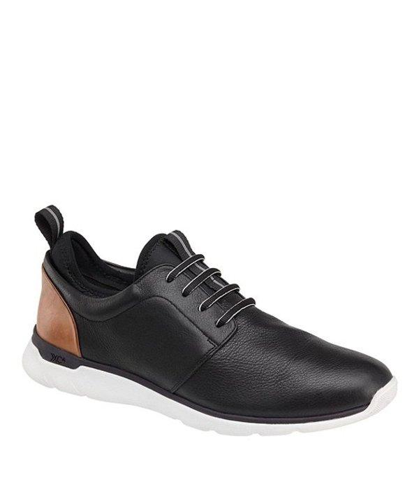 ジョンストンアンドマーフィー メンズ スニーカー シューズ Men's XC4 Prentiss Plain Toe Waterproof Sneakers Black