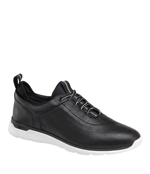 ジョンストンアンドマーフィー メンズ スニーカー シューズ Men's XC4 Prentiss U-Throat Waterproof Sneakers Black