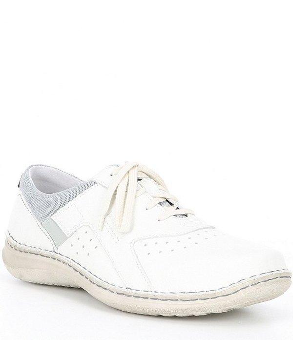 ジョセフセイベル メンズ ドレスシューズ シューズ Men's Jake 01 Leather Sneaker White