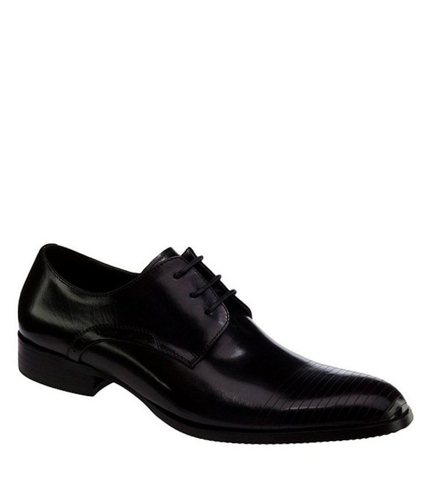ケネスコール メンズ ドレスシューズ シューズ Men's Straight Line Dress Shoes Black