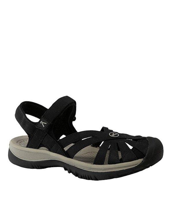 キーン レディース サンダル シューズ Rose Waterproof Sandals Black/Neutral