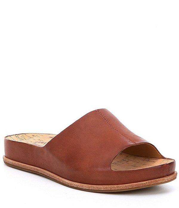 コークイーズ レディース サンダル シューズ Tutsi Leather Slides Etiope