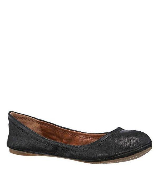ラッキーブランド レディース パンプス シューズ Emmie Leather Flats Black