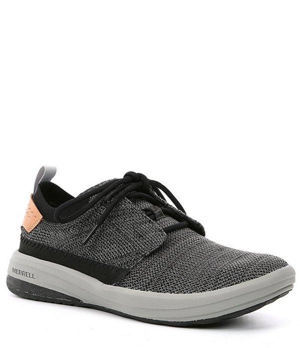 メレル メンズ スニーカー シューズ Men's Gridway Lace Up Sneaker Black