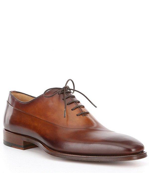 マグナーニ メンズ ドレスシューズ シューズ Men's Vaughan Leather Oxford Tabaco/Cuero