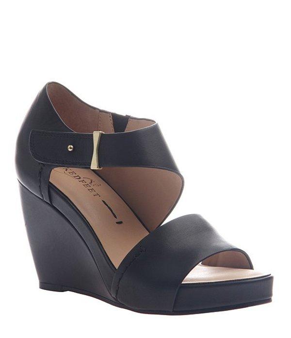 ネイキッドフィート レディース サンダル シューズ Dorado Leather Wedge Sandals Black