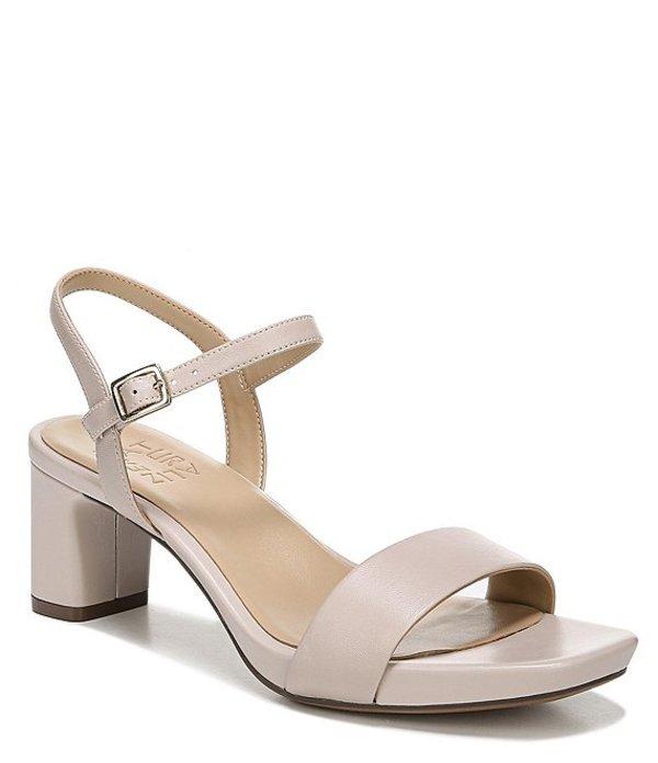 ナチュライザー レディース サンダル シューズ Ivy Leather Block Heel Dress Sandals Soft Marble