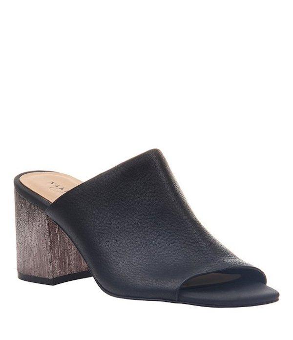 ネイキッドフィート レディース サンダル シューズ Harissa Leather Block Heel Mules Black