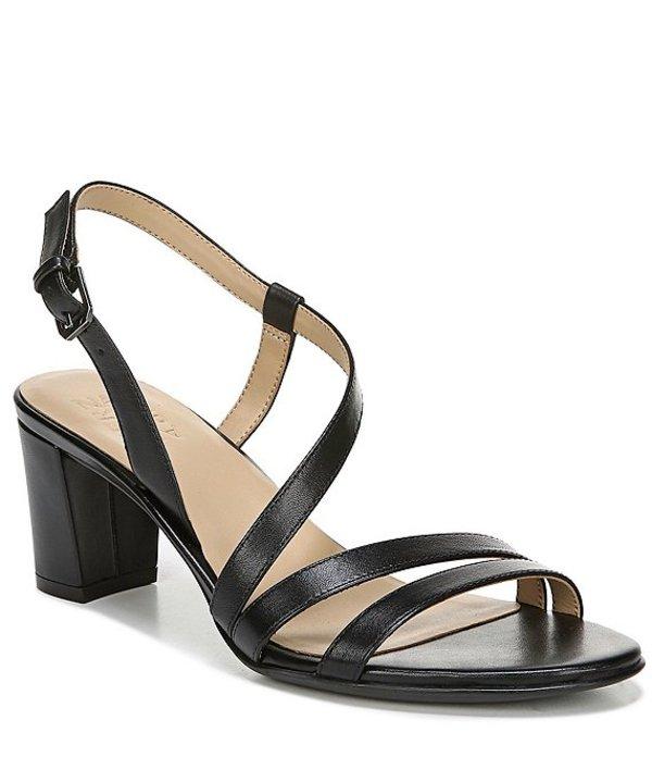 ナチュライザー レディース サンダル シューズ Vanessa Strappy Leather Dress Sandals Black Leather