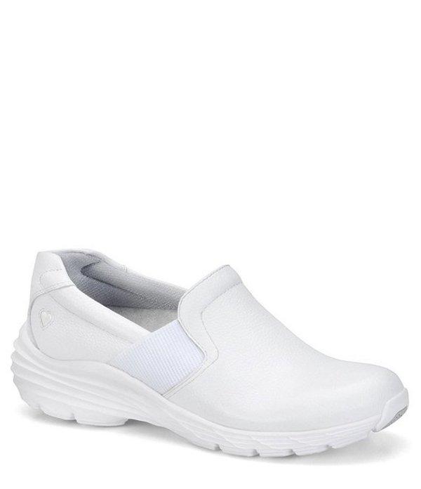 ナースメイト レディース スニーカー シューズ Harmony Slip Ons White