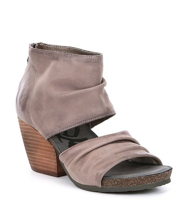 オーティービーティー レディース サンダル シューズ Patchouli Leather Sandals Zinc