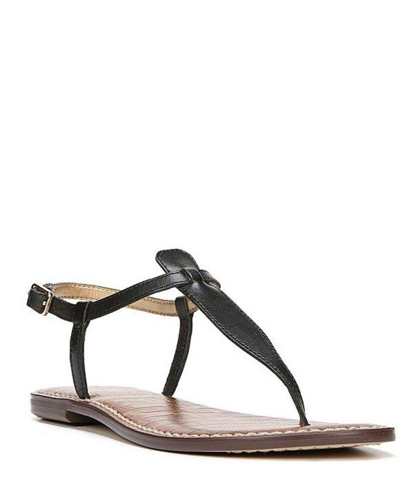 サムエデルマン レディース サンダル シューズ Gigi T-Strap Sandals True Black
