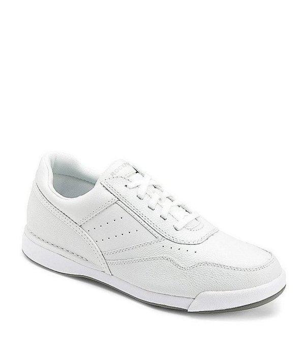 ロックポート メンズ スニーカー シューズ Men's Prowalker Leather Walking Shoes White