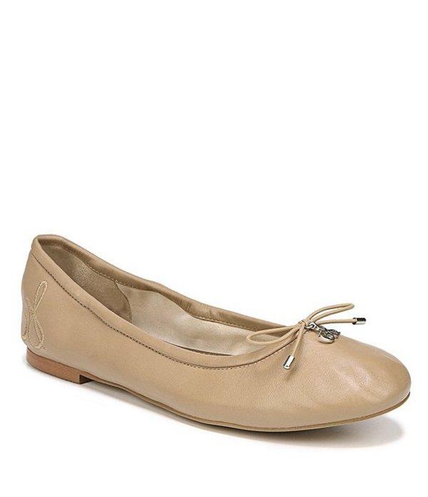 サムエデルマン レディース パンプス シューズ Felicia Leather Ballet Flats Classic Nude
