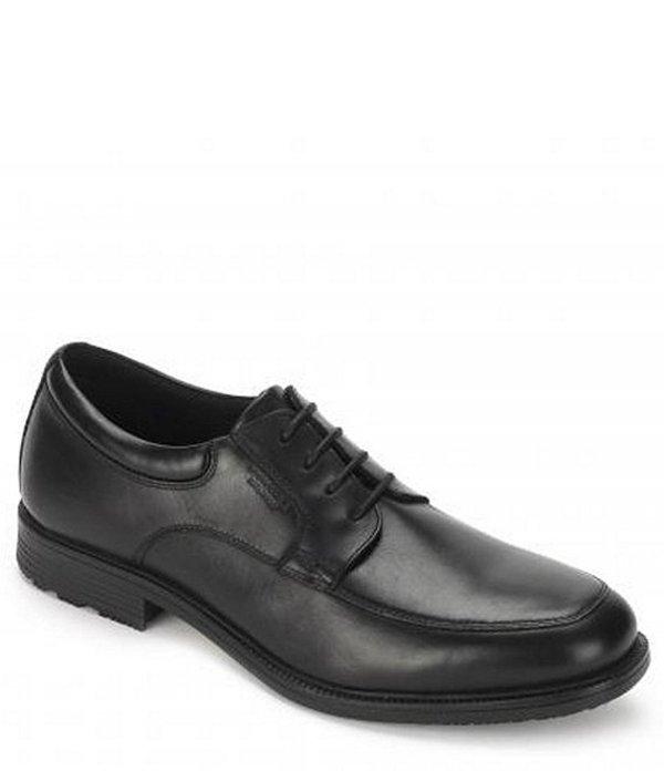 ロックポート メンズ ドレスシューズ シューズ Men's Essential Details Waterproof Oxfords Black