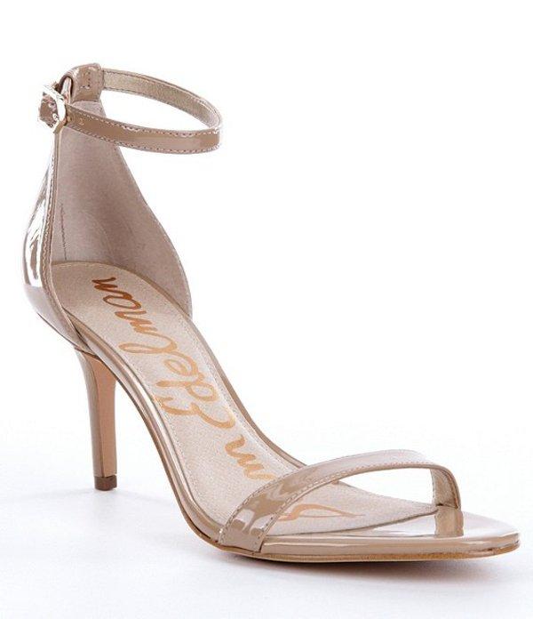 サムエデルマン レディース サンダル シューズ Patti Ankle Strap Patent Leather Dress Sandals Classic Nude
