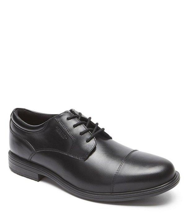 ロックポート メンズ ドレスシューズ シューズ Men's Essential Details II Waterproof Cap Toe Shoes Black