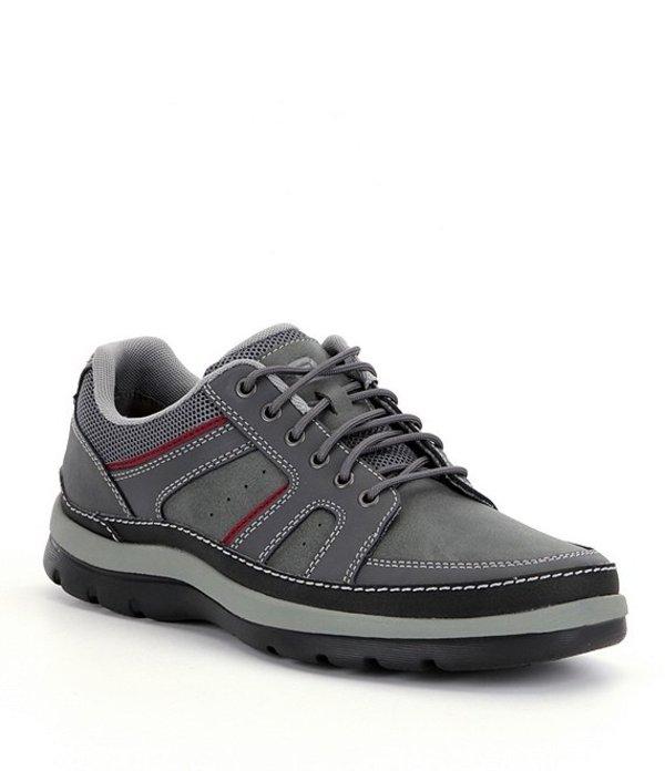 ロックポート メンズ スニーカー シューズ Men's Get Your Kicks Mudguard Blucher Sneakers Castlerock Grey
