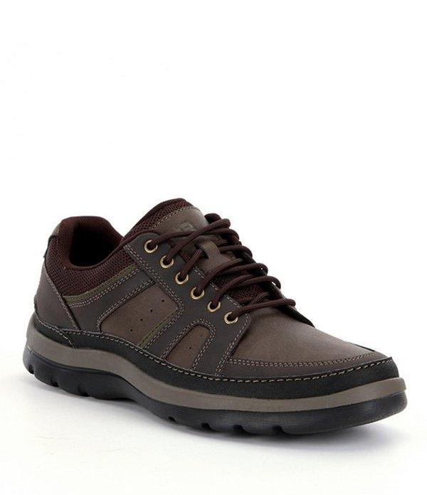 ロックポート メンズ スニーカー シューズ Men's Get Your Kicks Mudguard Blucher Sneakers Dark Brown